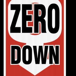 zero down sign