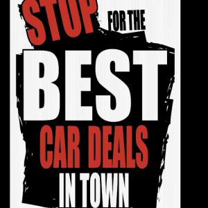 best deals sign