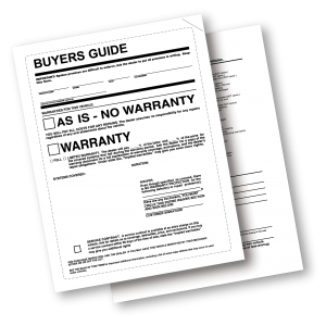buyers guide _as is_