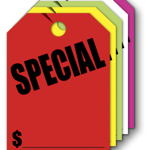 special hang tags