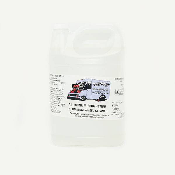 Promagic Aluminum Brightener - Aluminum Wheel Cleaner (1 Gallon)
